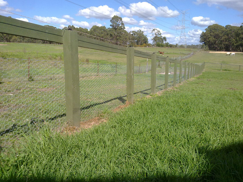 Rural Fences Rural Fence And Fencing Post And Rail